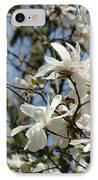 Magnolia Flowers White Magnolia Tree Flowers Art Prints IPhone Case