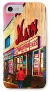 Main Steakhouse Blvd.st.laurent IPhone Case