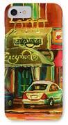 Mary Seltzer Dress Shop IPhone Case