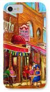 Mazurka Cafe IPhone Case