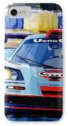 Mclaren Bmw F1 Gtr Gulf Team Davidoff Le Mans 1997 IPhone Case