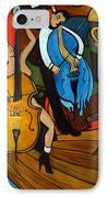 Melting Jazz IPhone Case