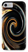 Mocha Swirl IPhone Case