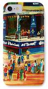 Montreal Jazz Festival IPhone Case