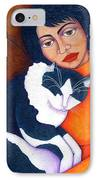 Morgana With Woman IPhone Case