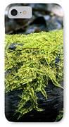 Mosss On Blackened Log IPhone Case