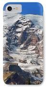 Mt. Rainier In The Fall IPhone Case
