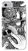 My God And I That Have No Charity IPhone Case