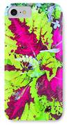 Natural Abstraction IPhone Case