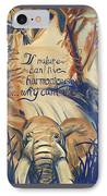 Nature In Harmony IPhone Case