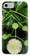 Nature In The Wild - Natural Pom Poms IPhone Case