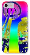 Needle And Ferris Wheel Fractal IPhone Case