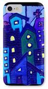 Neighborhood Blues IPhone Case