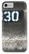 Numbers IPhone Case