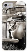 Old Firetruck IPhone Case