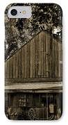 Old Spanish Sugar Mill Sepia IPhone Case