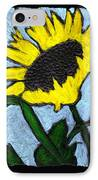 One Sunflower IPhone Case