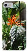 Orange Plants IPhone Case