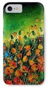 Orange Poppies 459080 IPhone Case