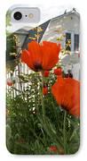 Oriental Poppies IPhone Case