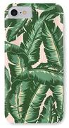 Palm Print IPhone 8 Case by Lauren Amelia Hughes