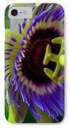 Passion-fruit Flower IPhone Case