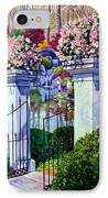Peace In The Garden IPhone Case