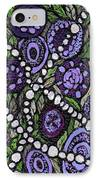 Pearls In The Garden IPhone Case