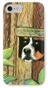 Peek-a-boo Fence IPhone Case