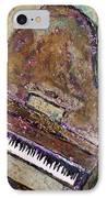 Piano In Bronze IPhone Case