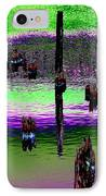 Pilings Of The Past IPhone Case