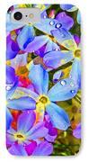 Pincushion Flower IPhone Case