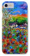 Poppies In Sorinnes  IPhone Case