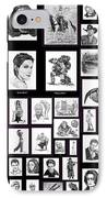 Portrait And Illustrations On Fine Art America IPhone Case
