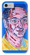 Portrait Dr. R. Meiritz IPhone Case
