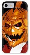 Pumpkin Head IPhone Case