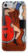 Red Cello 2 IPhone Case