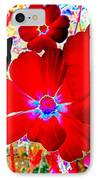 Red Cosmos IPhone Case