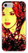 Red Flirt IPhone Case