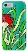 Red Head Mermaid IPhone Case