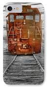 Red Locomotive IPhone Case
