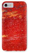 Red Surf On The Beach IPhone Case