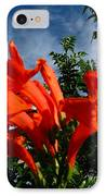 Red Trumpeter IPhone Case