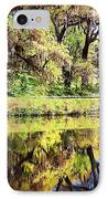 Reflective Live Oaks IPhone Case