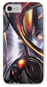 Rippling Fantasy Abstract IPhone Case
