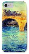 River Seine Bridge IPhone Case