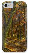 Road In The Woods IPhone Case