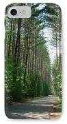 Roadway At Fish Creek IPhone Case