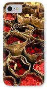Rose Rolled In Newspaper IPhone Case