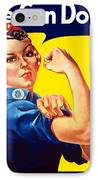 Rosie The Rivetor IPhone 8 Case by War Is Hell Store